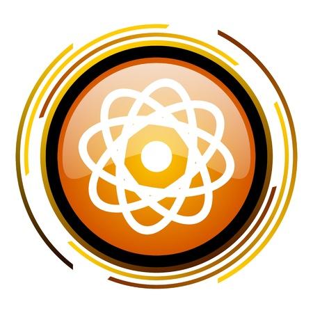 atom icon Stock Photo - 20519761