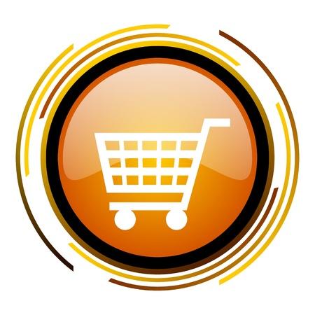 shopping cart icon Stock Photo - 20519588