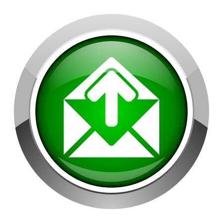 mail icon Stock Photo - 20546559