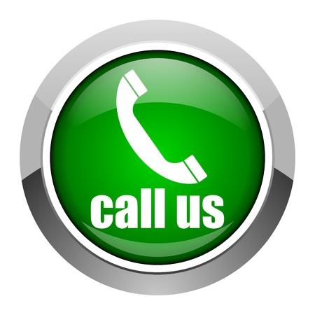 call us icon Stock Photo - 20546567