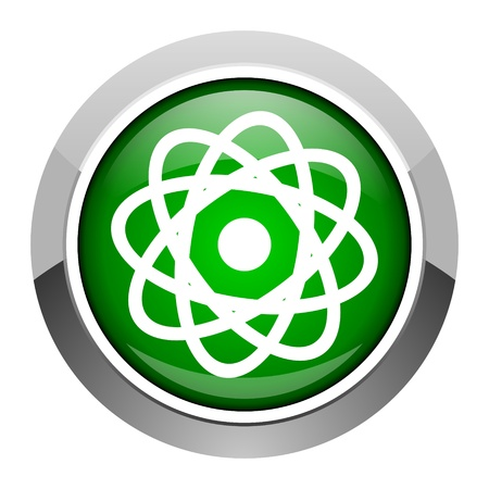 atom icon Stock Photo - 20546404
