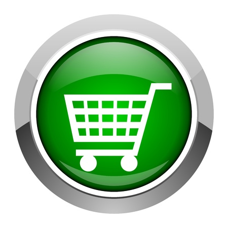 shopping cart icon Stock Photo - 20546644