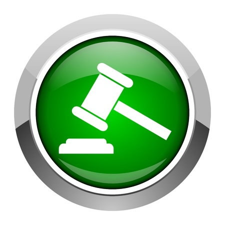 law icon Stock Photo - 20546372