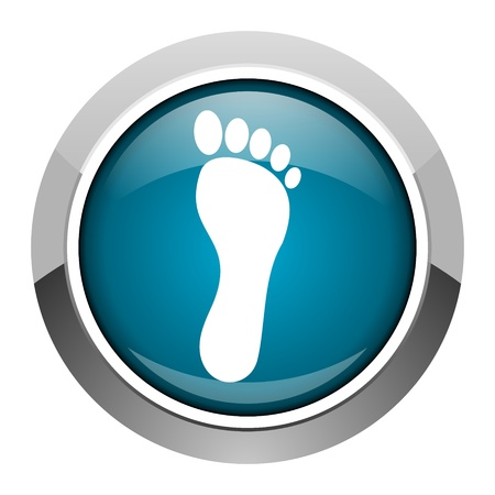 footprint icon  photo