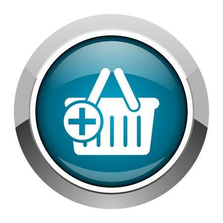 shopping cart icon Stock Photo - 20573421