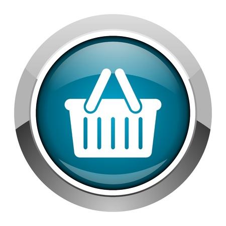 shopping cart icon Stock Photo - 20573330