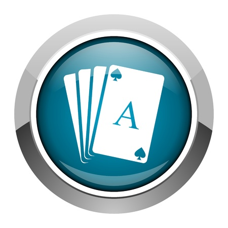 playing cards icon  photo