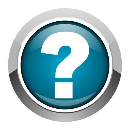internet mark: question mark icon