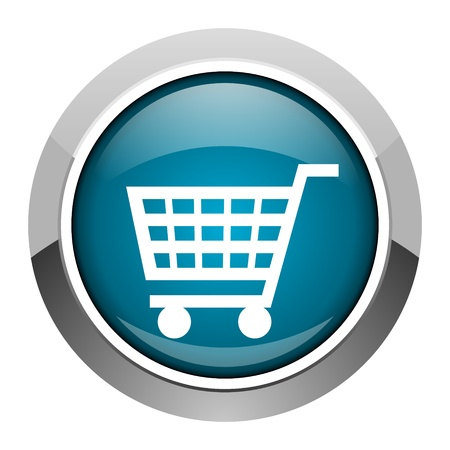 shopping cart icon Stock Photo - 20573398