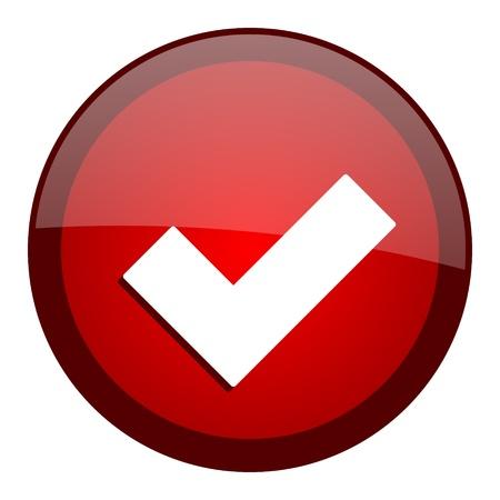 accept: accept icon  Stock Photo