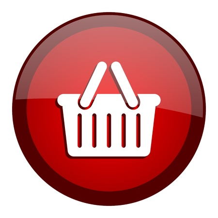 shopping cart icon Stock Photo - 20644815