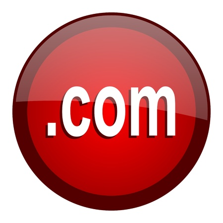 com icon Stock Photo - 20661264