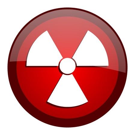 radiation icon Stock Photo - 20644752