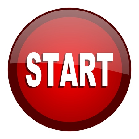 start icon Stock Photo - 20661578