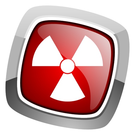 radiation icon Stock Photo - 20661487