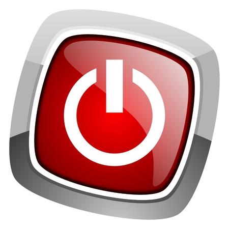 power icon Stock Photo - 20661680