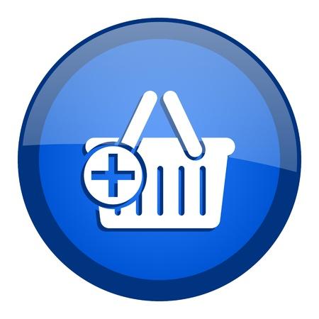 shopping cart icon Stock Photo - 20698834