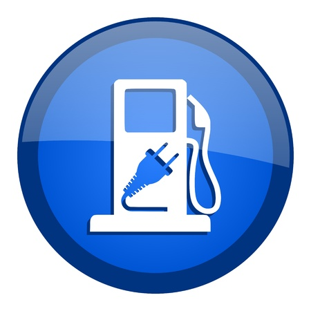 fuel icon Stock Photo - 20699025