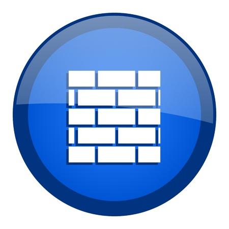 firewall icon Stock Photo - 20699147