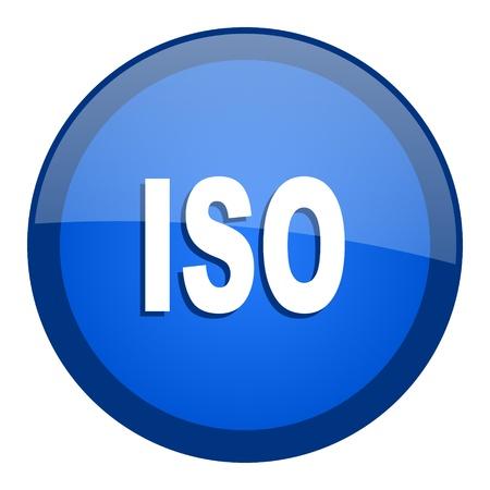 iso icon: iso icon  Stock Photo