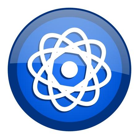 atom icon Stock Photo - 20699339