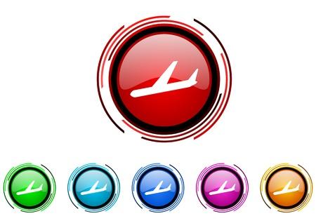 arrivals: arrivals icon set