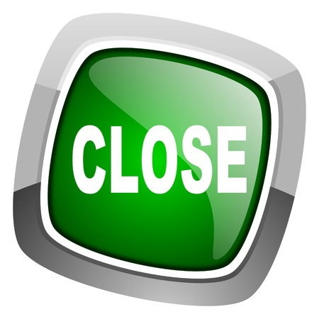 close icon  Stock Photo