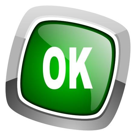 ok icon  photo
