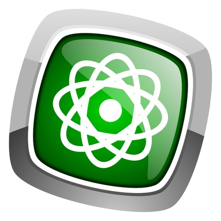 atom icon Stock Photo - 20697039