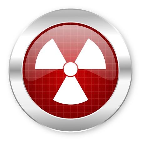 radiation icon Stock Photo - 20795886