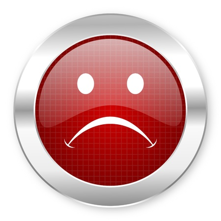 cry icon Stock Photo - 20796044
