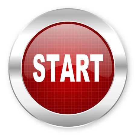 start icon Stock Photo - 20796108
