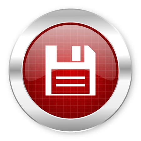 disk icon Stock Photo - 20796102