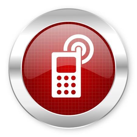 cellphone icon Stock Photo - 20796276