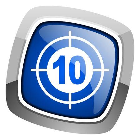 target icon Stock Photo - 20797107