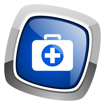 botiquin primeros auxilios: primeros auxilios icono kit