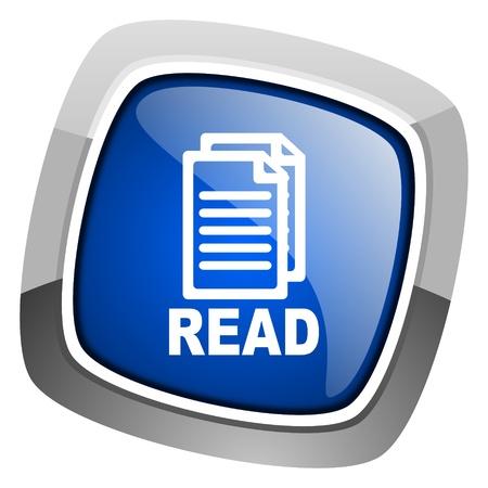 read icon  photo