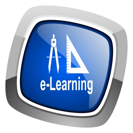 e-learning icon  photo