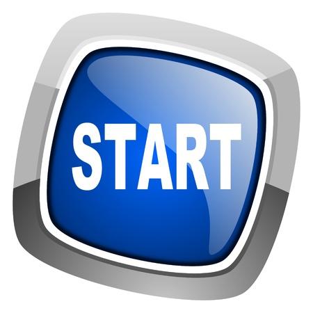 start icon Stock Photo - 20812943