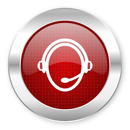 customer service icon  photo