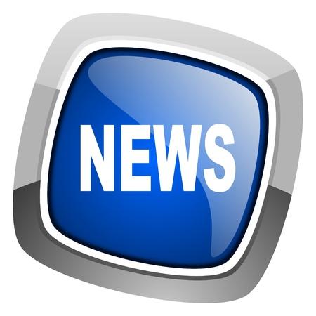 icone news: ic�ne nouvelles Banque d'images