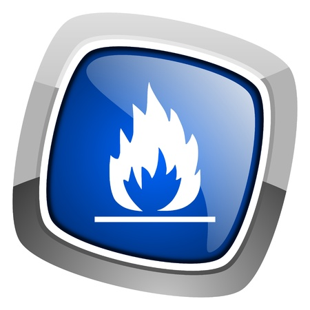 blue flames: flames icon