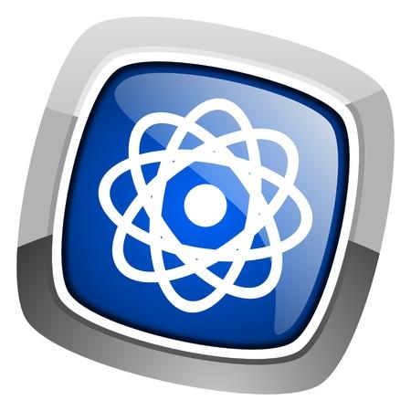 atom icon Stock Photo - 20813359