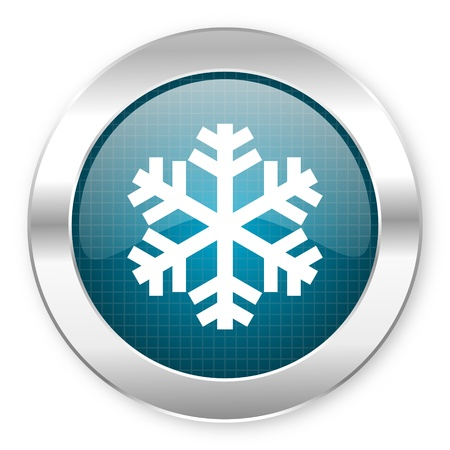 snowflake icon  photo