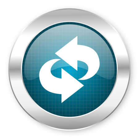 rotate icon  Stock Photo
