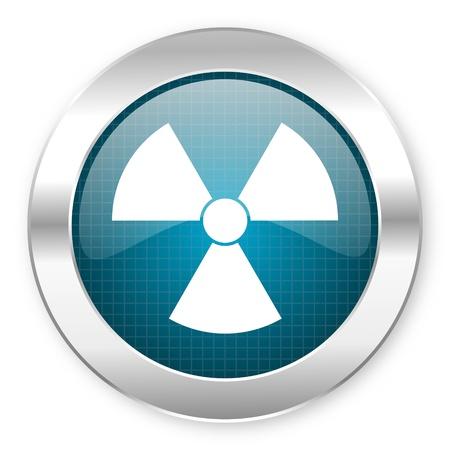 radiation icon Stock Photo - 21081620