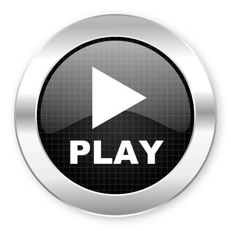 play icon Stock Photo - 21082233