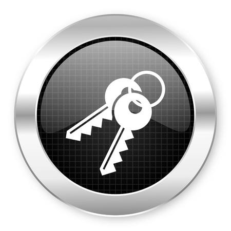 keys icon Stock Photo - 21082237