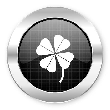 four-leaf clover icon Stock Photo - 21082301