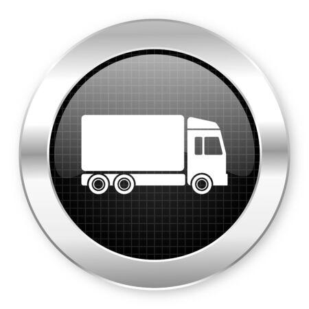 delivery icon Stock Photo - 21082362